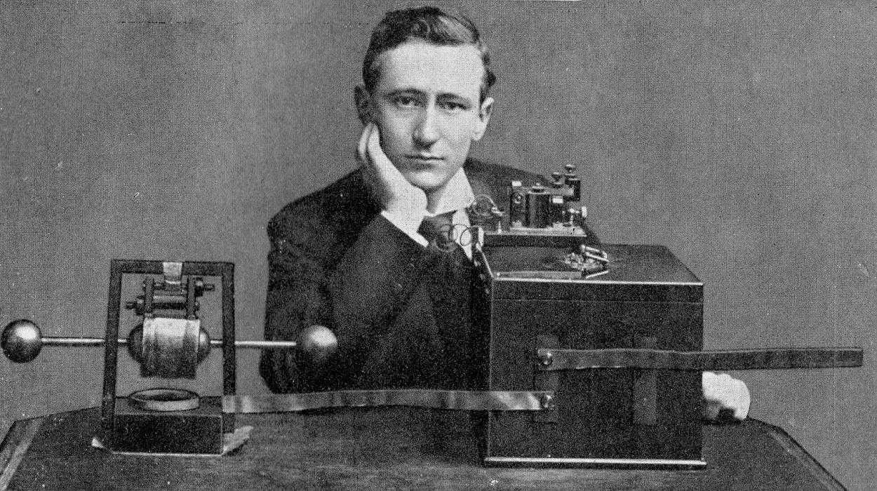 Guglielmo Marconi - steampunk.cz