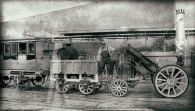 Rocket George Stephenson - steampunk.cz